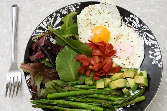 asparagus bacon salad 6