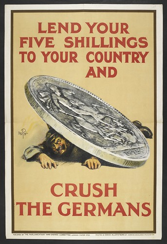 Lend your five shillings, 1915, Parliamentary War Savings Committee