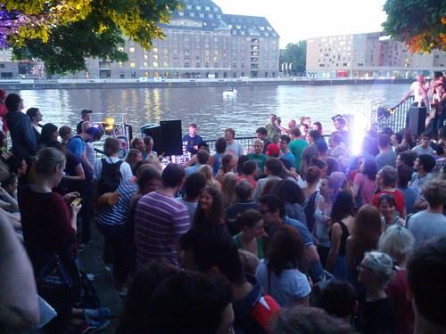 Blogrebellen-Stage auf der Fête da la Musique 2013 in Berlin