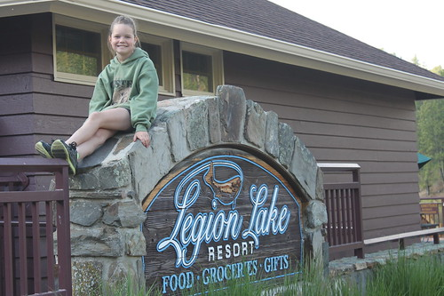 vali at the legion lake sign