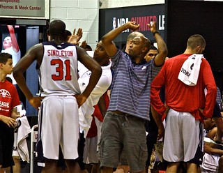 Chris Singleton, Sam Cassell, Gary Trent - 2013 NBA Summer League