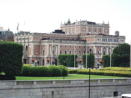 A svéd parlament épülete