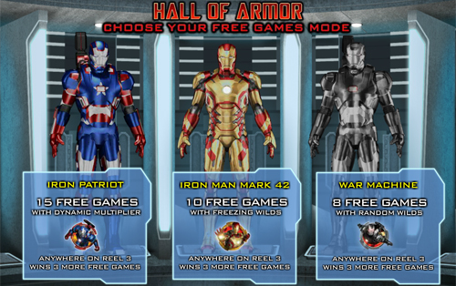 free Iron Man 3 free spins