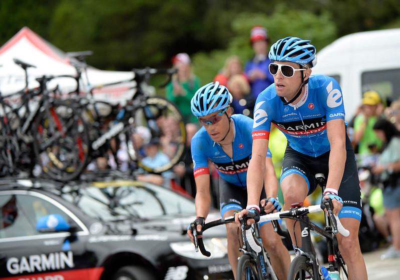 Ryder Hesjedal - Tour de France, stage 18