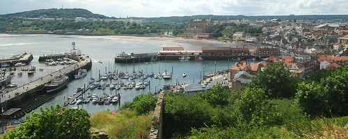 Scarborough's South Bay and harbour