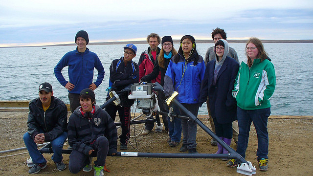 Biology Class in Cambridge Bay.