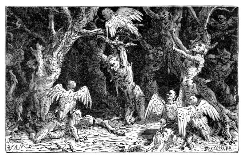 Jean-Edouard Dargent  - Illustrations from Dante's Divine Comedy 1870 (10)
