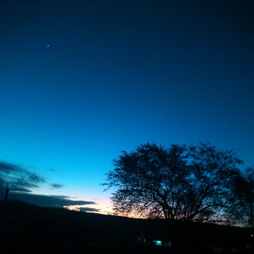 Venus no ceu do sertão alagoano.