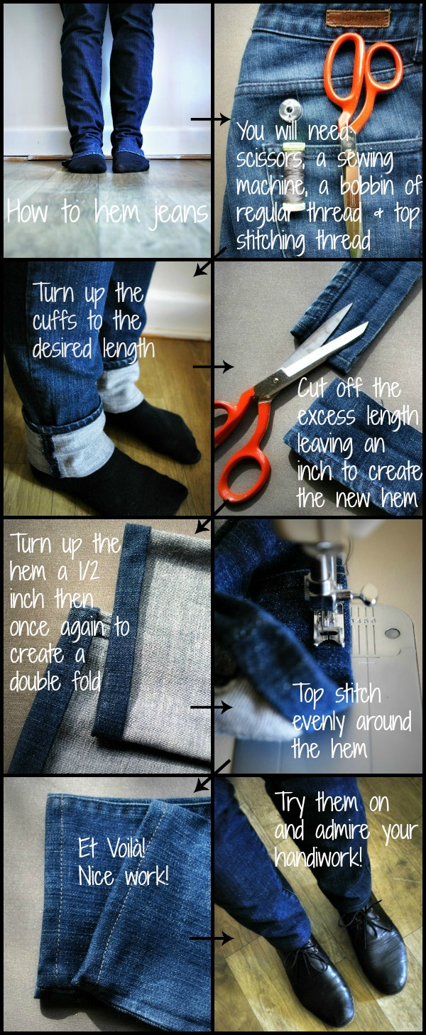 Howtohemjeans