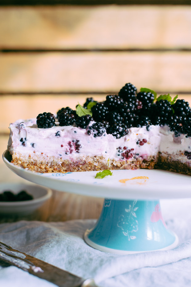 Summer Blackberry cake
