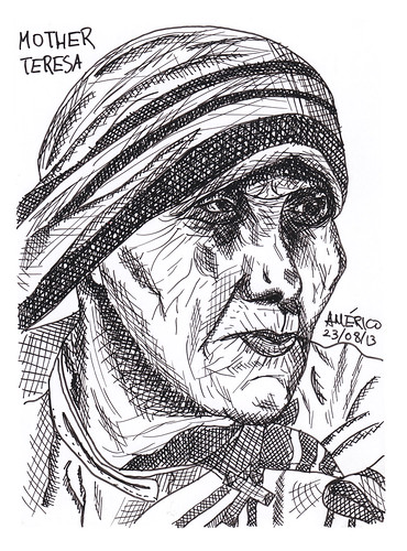 (51) Mother Teresa, Roman Catholic by americoneves
