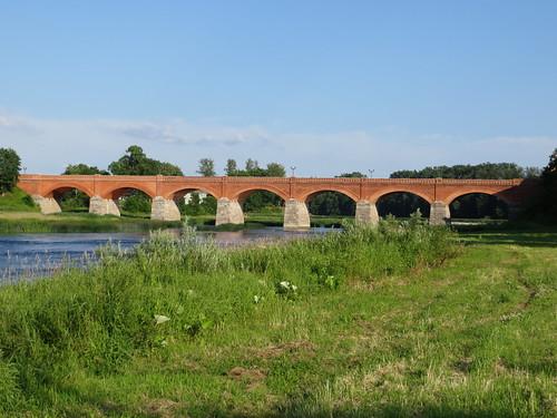 bridge latvia venta kuldiga brickbridge kuldigabrickbridge ventariver