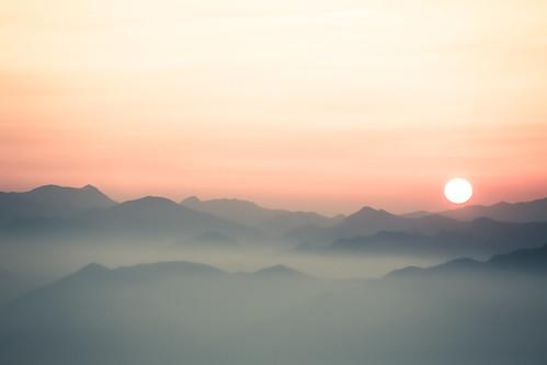 travel sunset mountain tourism nature japan clouds montagne landscape asia shikoku destination canon5d asie japon