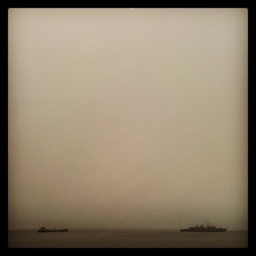Niebla en Valparaíso / Fog in Valparaíso by Miradas Compartidas