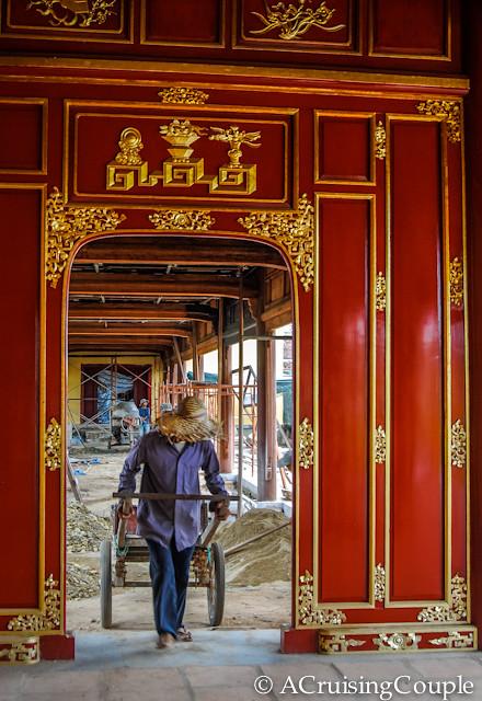 Citadel Hue Vietnam Construction