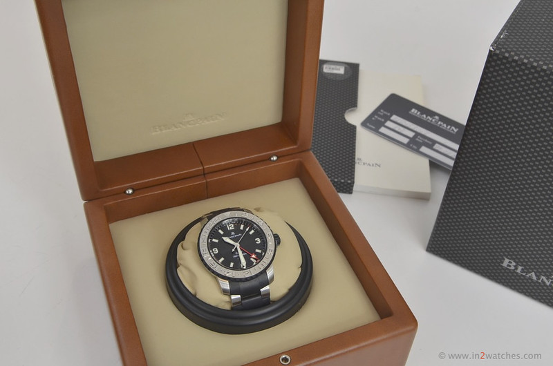 Blancpain box and papers