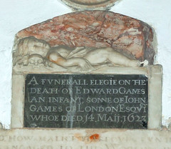 a funerall elegie on the death of Edward Games an infant
