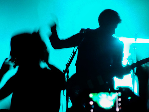 Alex and fan silhouette, Arctic Monkeys, Kool Haus, Toronto - #259/365 by PJMixer