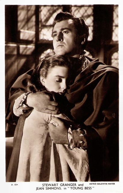 Stewart Granger, Jean Simmons in Young Bess