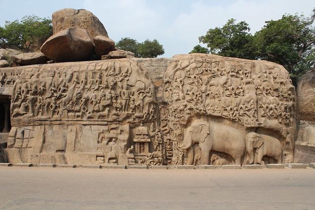 Mamallapuram, Arjuna's Penance