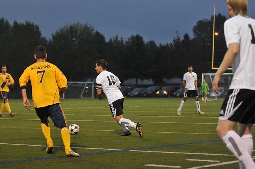 Cascades soccer - men vs TWU 13