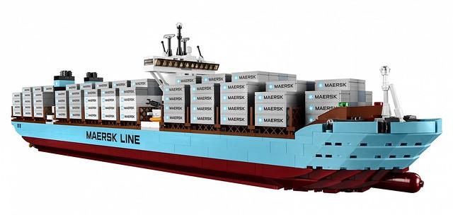 LEGO Creator Expert 10241 - Maersk Line Triple-E