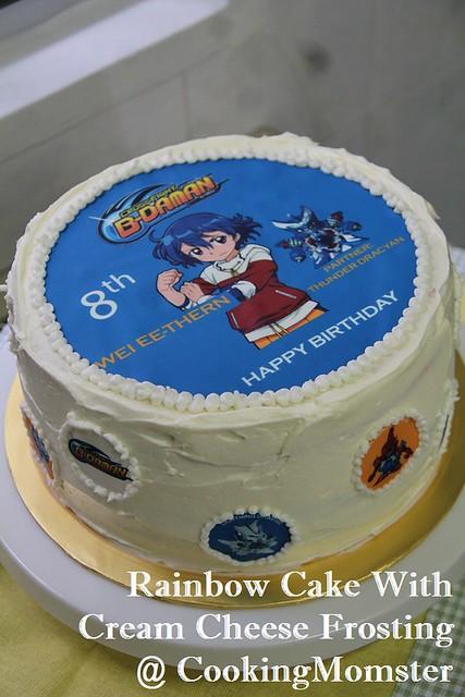 Rainbow Cake b
