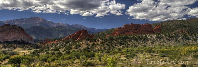 GARDEN OF THE GODS PANORAMA