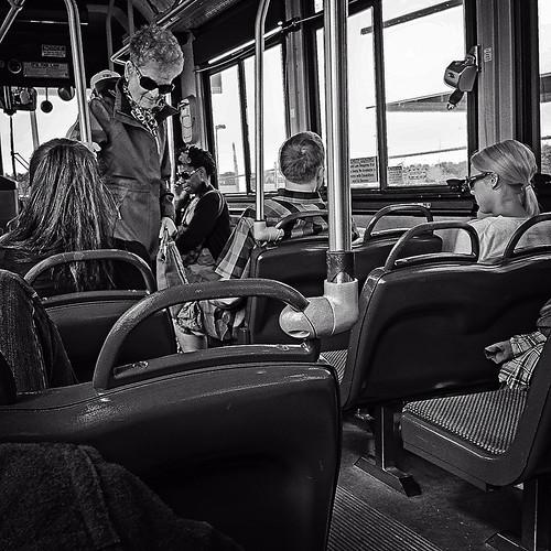 vienna street blackandwhite bw bus digital virginia metro streetphotography squareformat spirituality alienation generationgap iphone5