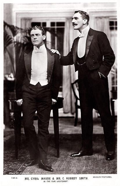 C. Aubrey Smith, Cyril Maude