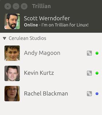 Jön a Trillian Linuxra