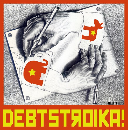 DEBTSTROIKA! by WilliamBanzai7/Colonel Flick