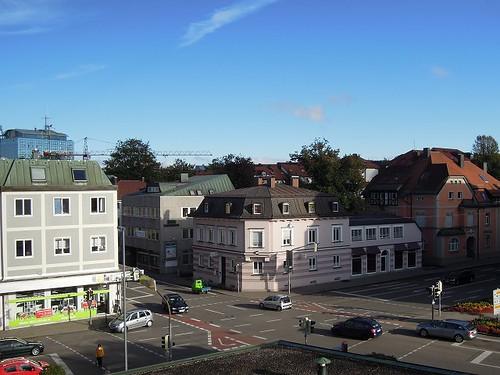 Kemptenの街