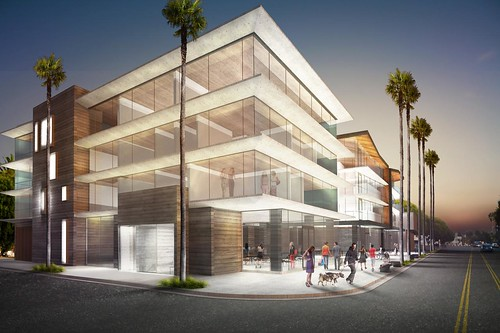 1414 Main Street Venice; proposed building