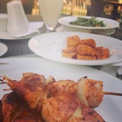 Chicken + makemba #foodporn #food