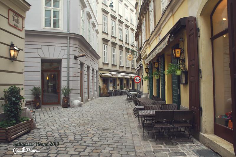 vienna streets, neko cafe