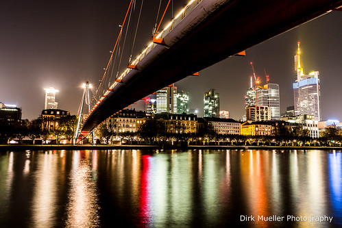 Frankfurt by Night by Dirk Mueller Photography
