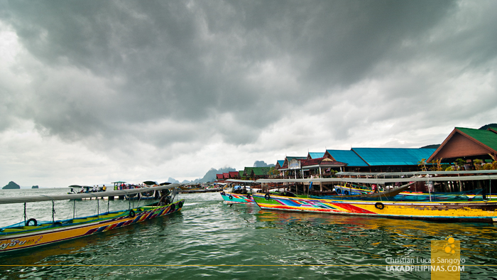 Floating Restaurants at Thailand's Koh Panyee