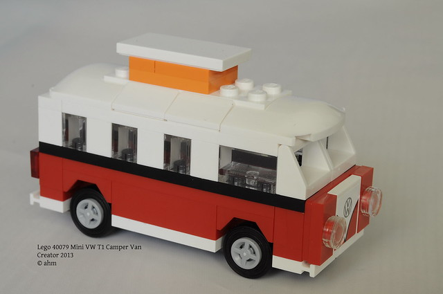 lego creator 40079 mini vw t1 camper van flickr photo. Black Bedroom Furniture Sets. Home Design Ideas