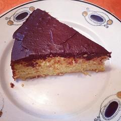 Möhrentorte - gâteau amandes carotte chocolat