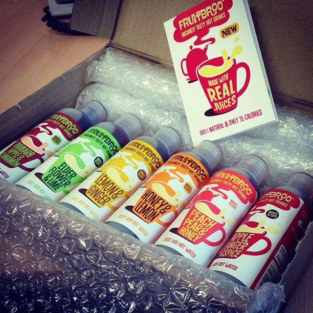 We have a real hard job in the office, but we'll soldier on through having to try out these yummy drinks from @fruitbroo
