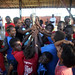 Local children gather around the Queen's Baton in Gizo, Solomon Islands on Saturday 9th November 2013. The Solomon Islands is the eleventh country to be visited on the baton's journey through 70 Commonwealth nations and territories.