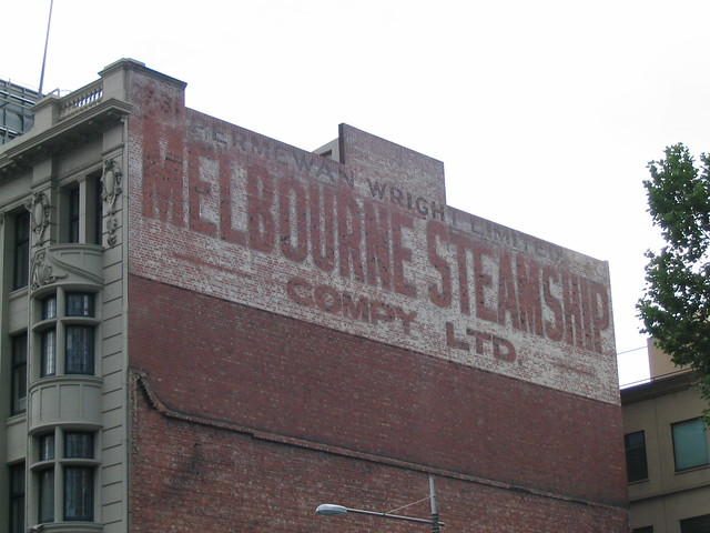 Melbourne Steamship Company, King Street, November 2003