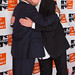 Dr. Mo Ibrahim and Peter Gabriel Embrace at Focus for Change Benefit 2013