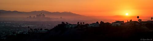 california camera city orange mountains sunrise dark landscape lumix la losangeles haze cityscape g pz vario mirrorless 45175 panasonicgh3