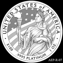 2014 American Eagle Platinum design AEP_R_07