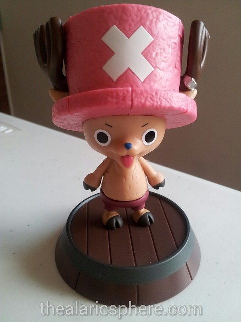 Tony-Chopper-One-Piece-3D-puzzle-completed