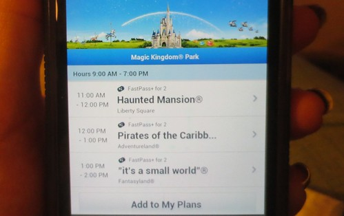 My Disney Experience App