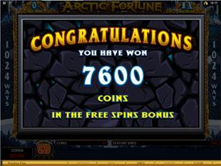 Arctic Fortune Prize