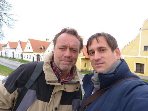 Con Paco Nadal en Holasovice